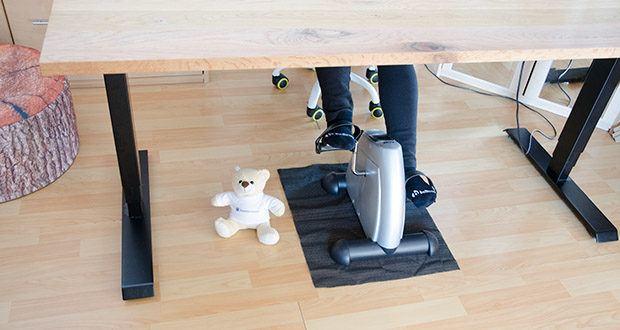 himaly Minibike Handergometer im Test - man kann auch im Büro unter dem Schreibtisch verbrauchen