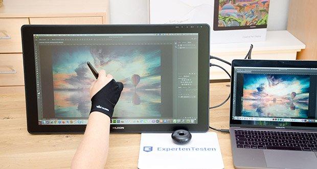 Huion Grafiktablett Kamvas 22 im Test – liefert lebendige Bilder mit lebendigen Farben und Details