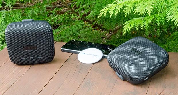 Tribit Stormbox Micro Bluetooth Lautsprecher im Test - wenn Sie zwei StormBox Micro Bluetooth-Lautsprecher besitzen, können Sie beide zum Partymodus miteinander verbinden