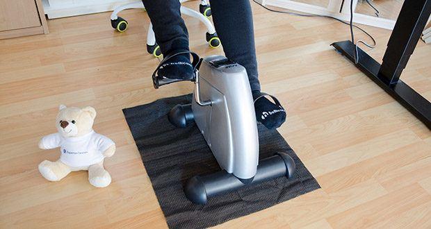 himaly Minibike Handergometer im Test - Sie können in Schlafzimmern, Wohnzimmern, Büros und im Freien trainieren