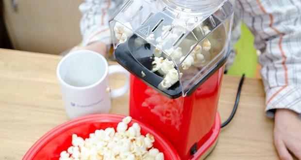 Aicook Popcornmaschine 1400W im Test - schneller als die Mikrowellen und andere Popcornmaschinen; perfekt für jede Bedürfnis