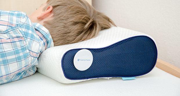 Mosswell ergonomisches Nackenstützkissen im Test - passt sich Ihren Körperkonturen perfekt an und bietet gleichzeitig optimalen Halt