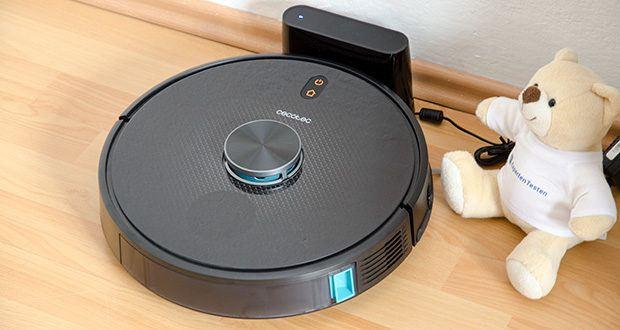 Cecotec Conga 5490 Saugroboter im Test - kehrt automatisch zur Ladestation nach der Reinigung dank Ihres GPSHome System zurück