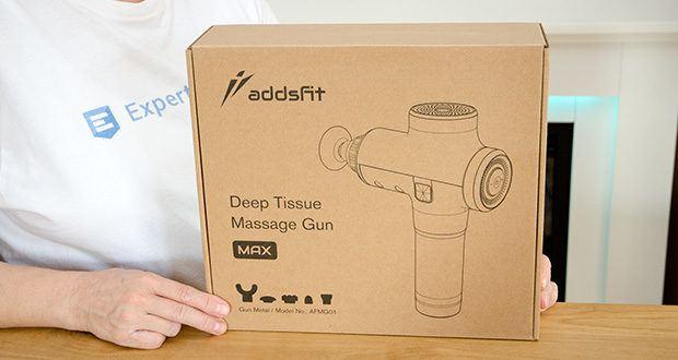 addsfit Massagepistole Max im Test - 3-jährige Garantie