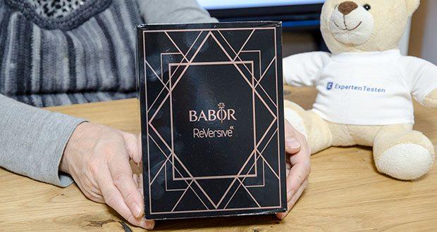 BABOR ReVersive X-mas Anti-Aging Pflegeset im Test - mit Creme und Serum
