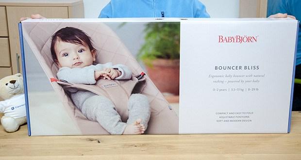 BabyBjörn Babywippe Bliss Sandgrau im Test - ab 3, 5 kg/53 cm bis 13 kg (etwa ab Geburt bis 2 Jahre)