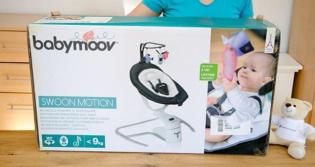 Babymoov Babyschaukel Swoon Motion Zink im Test - eine perfekte Kombination aus beruhigender Schaukel und Anregung für das Baby
