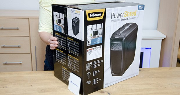 Fellowes Aktenvernichter Powershred 60Cs im Test - für die Nutzung Zuhause und im Home Office