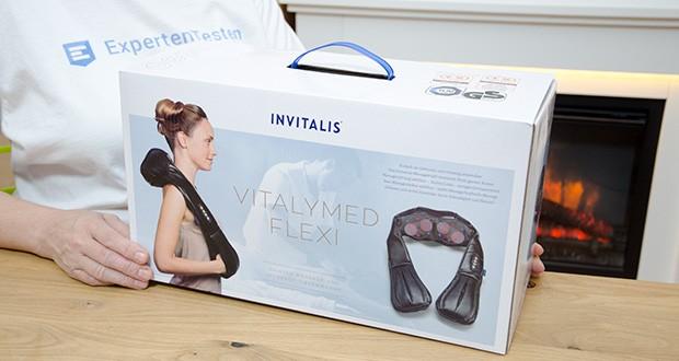 Invitalis Vitalymed Flexi Massagegerät im Test - eine Garantie über 2 Jahre