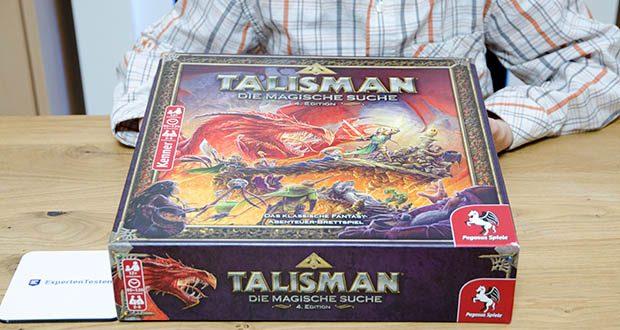 Pegasus Spiele - Talisman - Die Magische Suche im Test - das Kultspiel in der Welt der Drachen und Magie