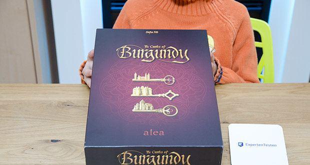 Ravensburger Alea - The Castles of Burgundy im Test - Altersempfehlung des Herstellers: ab 12 Jahren