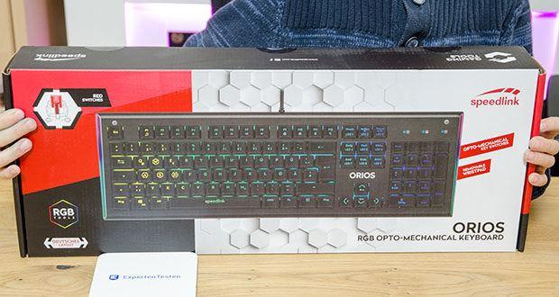 Speedlink Orios RGB Opto-Mechanische Gaming Tastatur im Test - mit unübertroffener Ausstattung ins Gaming-Abenteuer