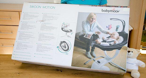 Babymoov Babyschaukel Swoon Motion Zink im Test - von Geburt an einsetzbar