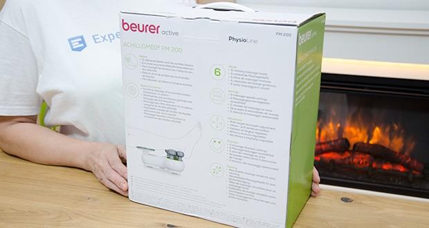 Beurer FM 200 Achillomed Achillessehnenmassagegerät im Test - Produktmaße (LxBxH) 32 x 26,5 x 15 cm