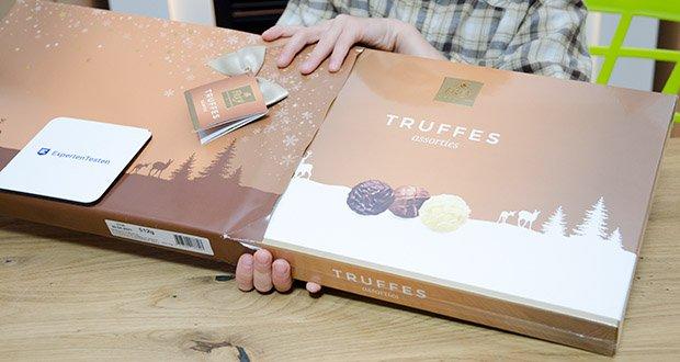 Frey Truffes assortiert Geschenkpackung im Test - perfektes Schokoladengeschenk für jeden Moment ob Weihnachten, Geburtstag, Dankeschön oder als gute Besserung