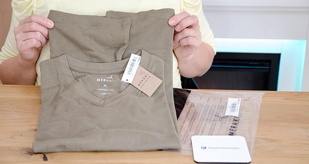 MERAKI Herren T-Shirt im Test - Modellnummer: AZJM-0012