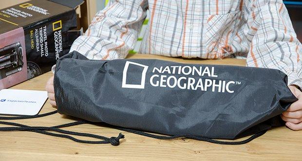 National Geographic Foto-Reisestativ-Set im Test - kompakt und leistungsstark