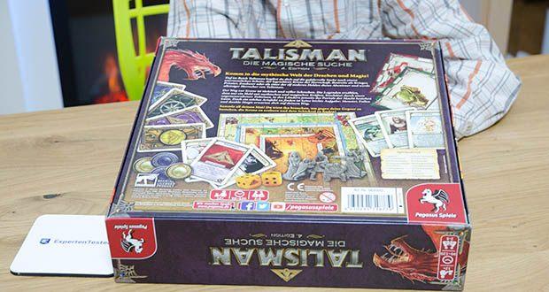 Pegasus Spiele - Talisman - Die Magische Suche im Test - Kennerspiel ab 12 Jahren