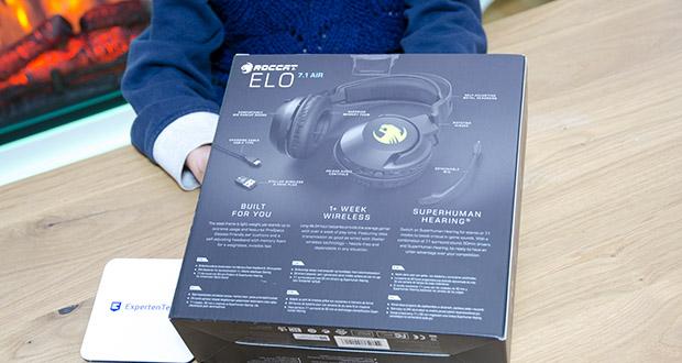 Roccat Elo 7.1 Air Gaming Headset im Test - kabelloses Surround-Sound RGB-Gaming-Headset