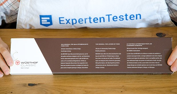 Wüsthof Kochmesser Classic, 16 cm im Test - Härtegrad der Klingen: 58° Rockwell