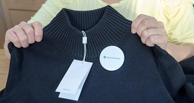 BOSS Damen C Fabelletta Pulloverkleid im Test - Ausschnitt: Mock-Neck