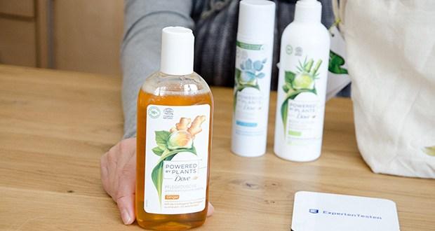 Dove Powered by Plants Duftmix 3-teiliges Geschenkset im Test - eine Pflegedusche (250 ml), ein Deodorant (75 ml) und eine Body Lotion (250 ml)