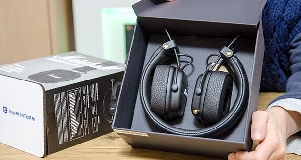 Marshall Major III Bluetooth Faltbar Kopfhörer im Test - mehr als 30 Stunden Akkulaufzeit