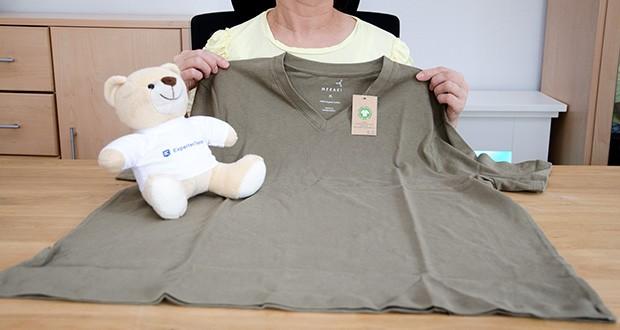 MERAKI Herren T-Shirt im Test - Größe: 44, Farbe: Khakigrün