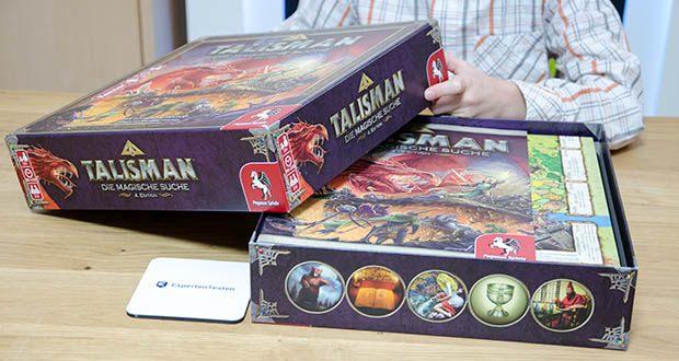 Pegasus Spiele - Talisman - Die Magische Suche im Test - Spieldauer: 90-120 Minuten, Spieleranzahl: 2-6