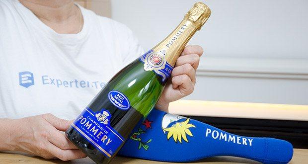 Pommery Brut Royal Champagner im Test - ein Klassiker aus dem Hause Pommery in stilvoller Icejacket