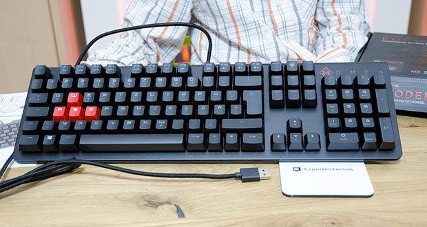 HP OMEN Encoder Gaming Tastatur im Test - unheimlich präzise