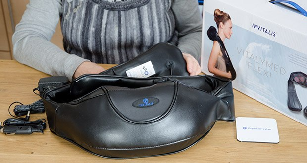 Invitalis Vitalymed Flexi Massagegerät im Test - individuell einstellbar
