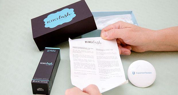 Kikilash Wimpernserum Infinity im Test - wurde mit zahlreichen Beauty-Experten entwickelt und repräsentiert höchste Produktqualität