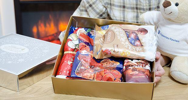 Lindt Weihnachtliche Kostbarkeiten Schokoladengeschenk im Test - 9 köstliche Weihnachtsschokoladen von Lindt