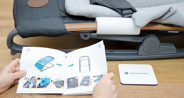 Maxi-Cosi Kori 2-in-1 Babywippe im Test - eine ergonomische, federleichte und unterstützende Babywippe, die ohne Elektronik funktioniert