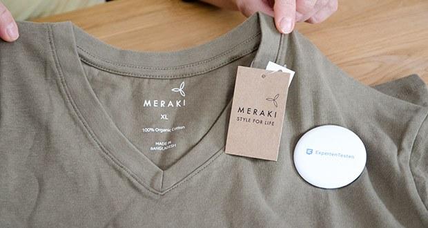 MERAKI Herren T-Shirt im Test - mit rundem Ausschnitt