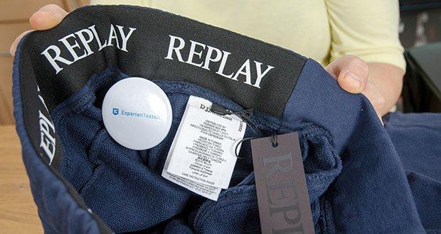 Replay Herren Sporthose im Test - 100% Baumwolle