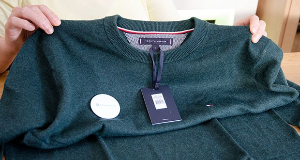 Tommy Hilfiger Herren Pima Cotton Cashmere Crew Neck Pullover im Test - Anpassung: Regular Fit