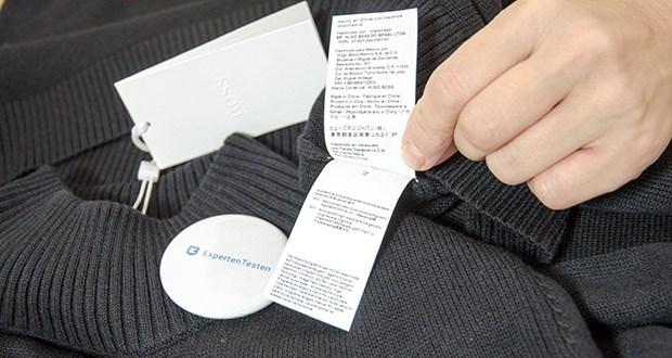 BOSS Damen C Fabelletta Pulloverkleid im Test - Pflegehinweis: Nur Handwäsche