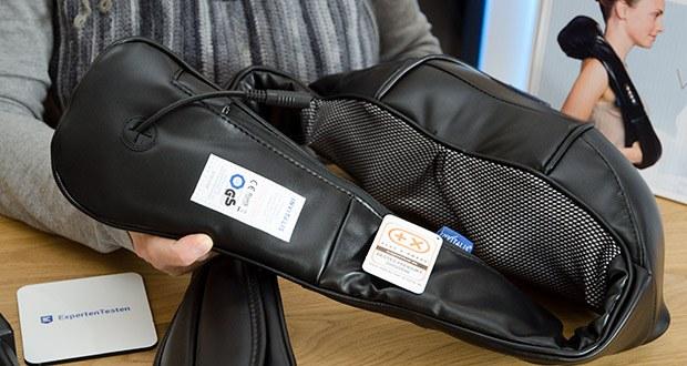 Invitalis Vitalymed Flexi Massagegerät im Test - einfache Anwendung ganz ohne Hilfe
