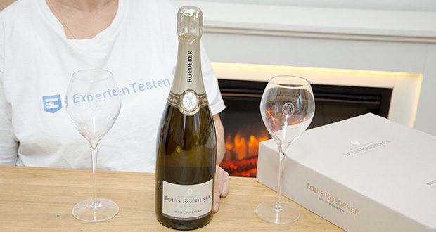 Louis Roederer Champagne Brut Premier im Test - Servierempfehlung: gekühlt bei 8 Grad Celsius servieren