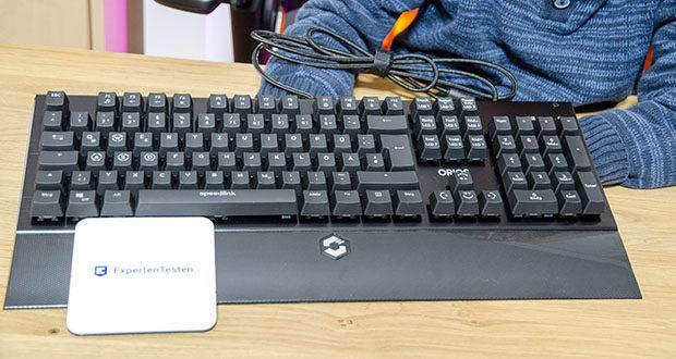 Speedlink Orios RGB Opto-Mechanische Gaming Tastatur im Test - die Tasten und Makros können ganz einfach per Software ganz nach deinen Bedürfnissen und Belieben angepasst werden, perfekt gewappnet für jede Situation
