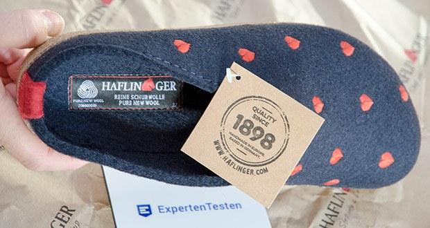 HAFLINGER Damen Couriccini Grizzly Pantoffeln im Test - halten die Füße warm