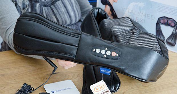 Invitalis Vitalymed Flexi Massagegerät im Test - Shiatsu Nackenmassagegerät mit Infrarot Wärmefunktion