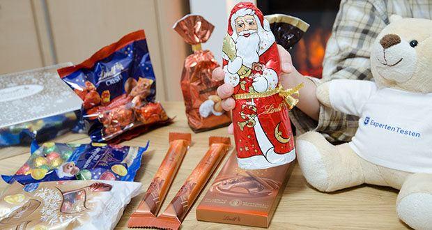 Lindt Weihnachtliche Kostbarkeiten Schokoladengeschenk im Test - was wäre Weihnachten ohne den Lindt Weihnachtsmann aus feinster Alpenvollmilch-Chocolade oder köstliche Weihnachts-Schokolade mit einem Hauch von Zimt und Koriander