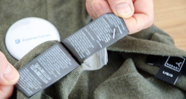 MERAKI Herren Strickjacke im Test - Pflegehinweis: Maschinenwäsche