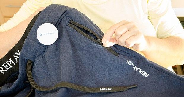 Replay Herren Sporthose im Test - Pflegehinweis: Maschinenwäsche