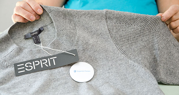 ESPRIT Collection Damen Kleid im Test - der feine bequeme Strick macht diesen Style aus nachhaltiger Viskose zum besonders wandelbaren Eyecatcher in deiner Garderobe