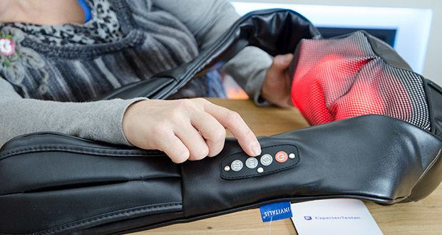 Invitalis Vitalymed Flexi Massagegerät im Test - Infrarot-Tiefenwärme