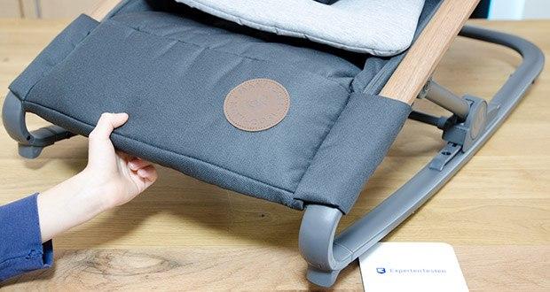 Maxi-Cosi Kori 2-in-1 Babywippe im Test - lässt sich leicht von feststehend auf schaukelnd umstellen